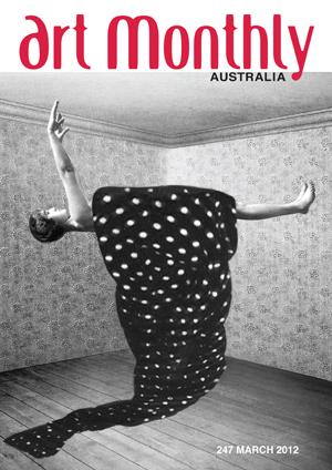 Art magazine cover
