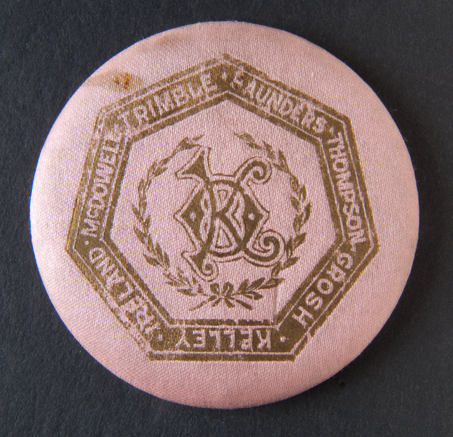National Grange Founders Button, 1875-1899