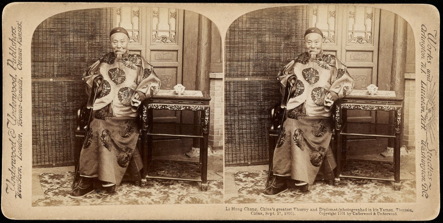 Photograph of Li Hung Chang, Chinese diplomat
