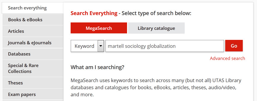 known book search example