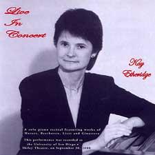 CD - Kay Etheridge - Live in Concert - 2002