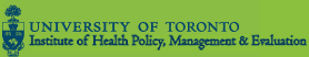 Institute of Health Policy, Management and Evaluation (IHPME)