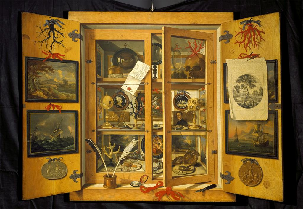 Cabinet of Curiosities  Domenico Remps  second half of the 17th century