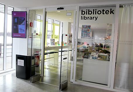 KC-bibliotekets entré