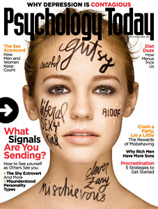 cover of Psychology Today