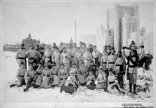 Toboggan Club, 1886