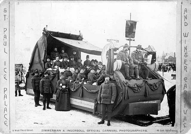 Owls Club Float, 1887