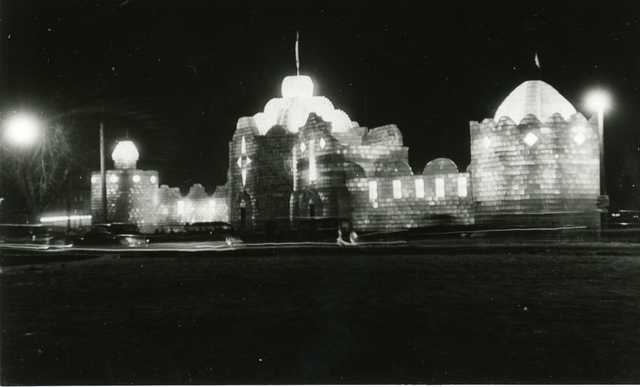 Ice Palace at Night, 1939