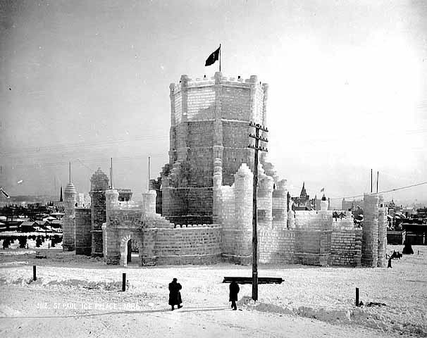 Winter Carnival Ice Palace, 1887