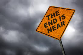 "roadsign ""the End is Near"""