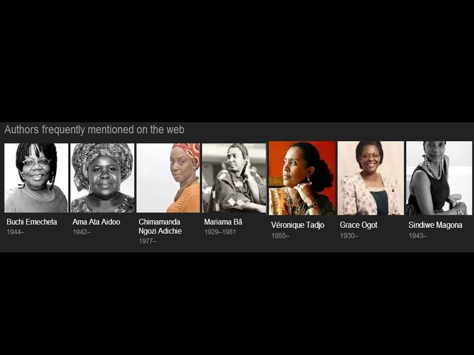 African Women writers around the web