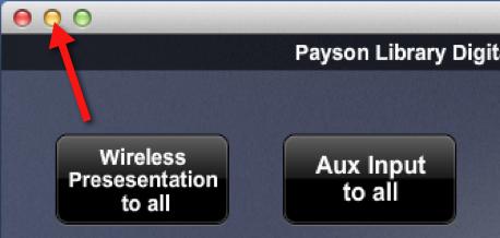 Minimize XPanel