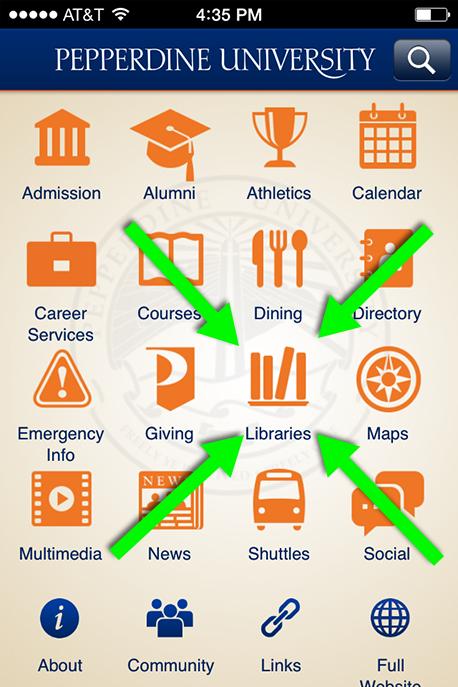 Pepperdine University Mobile App