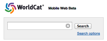 WorldCat Mobile Site Beta