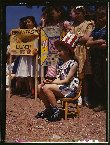 School festival, Connecticut, 1942 (Library of Congress)