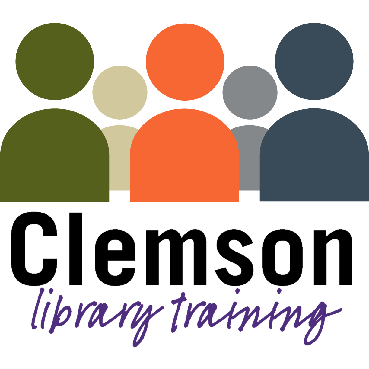 Clemson Library Training logo