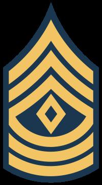 E8 USA 1SG