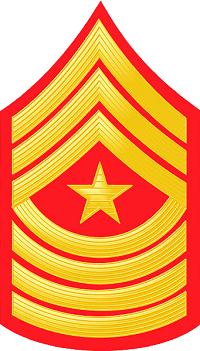 E9 USMC SGM