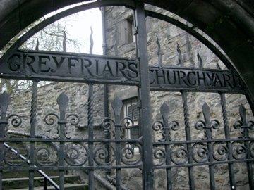 Greyfriar's Churchyard