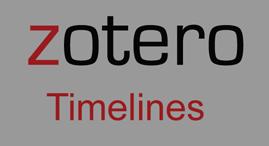 Zotero timelines