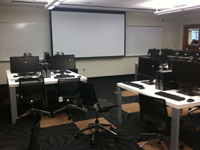 image of language resource center classroom