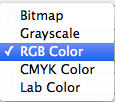 Color Modes List