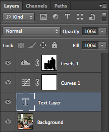Screenshot of Layers Palette