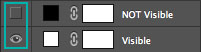 layer visibility icons