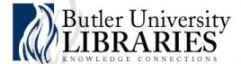 Butler University Libraries
