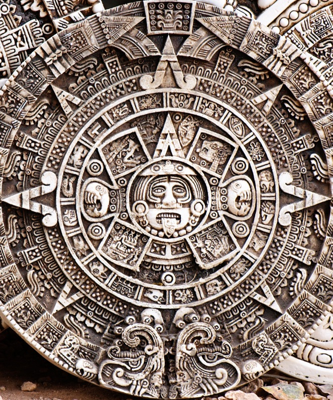 """""""Ancient Compass of the People of the Land of Aztec"""". Courtesy Wikimedia Commons."""