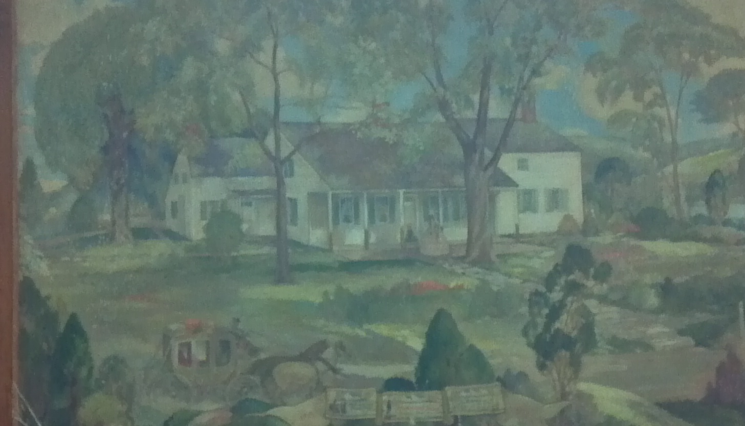 painting of hammond house