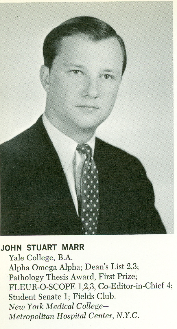 John Stuart Marr Yearbook Photo