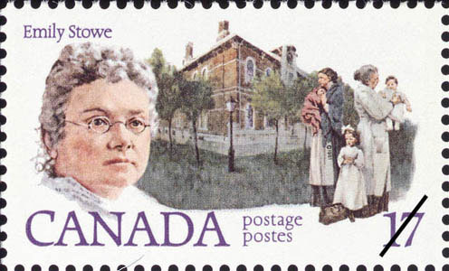 canadian postage stamp commemorating stowe