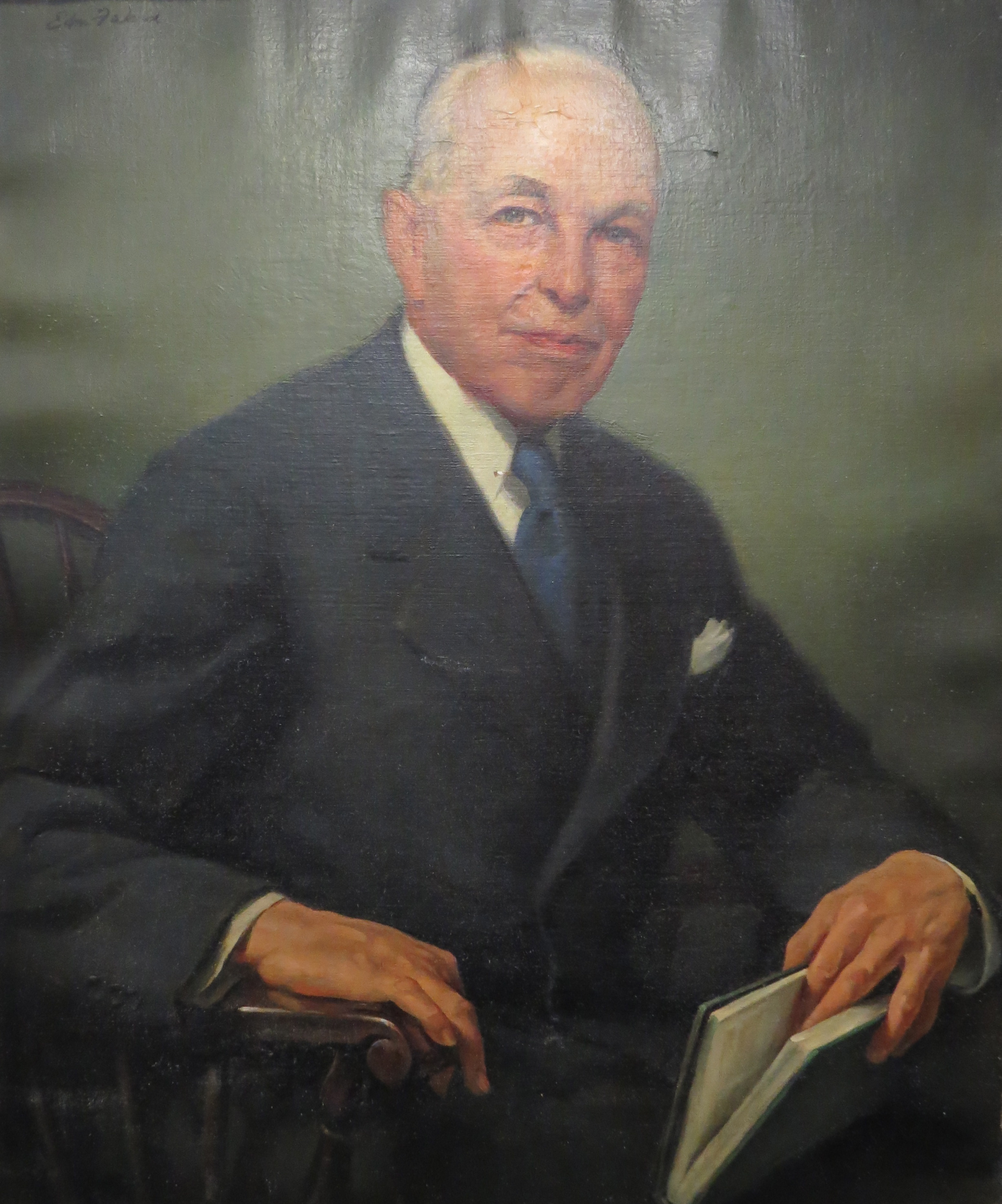 Portrait of James Hills