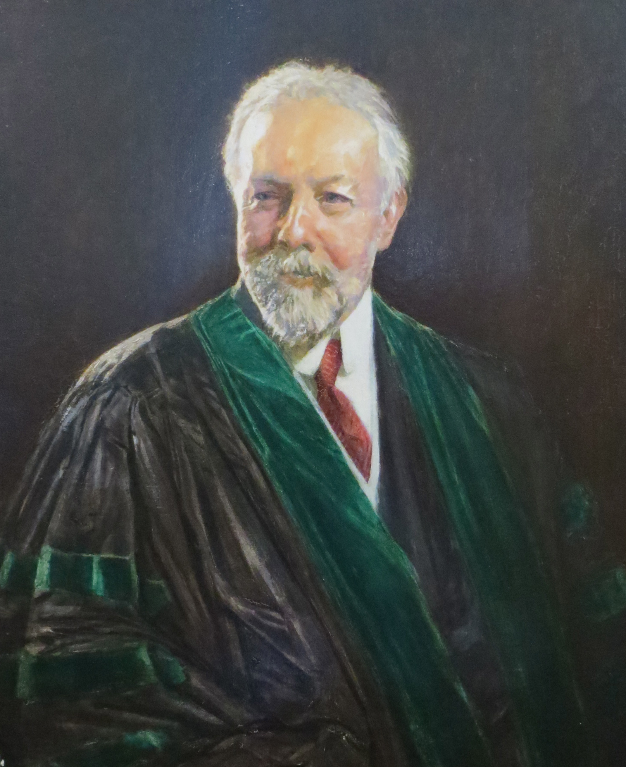 Portrait of Walter Crump
