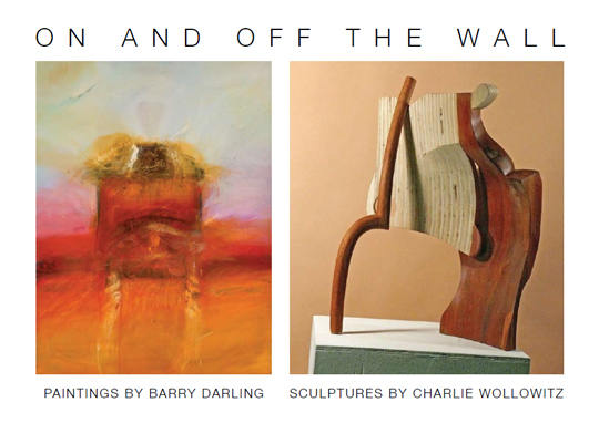 Postcard for Barry Darling and Charlie Wollowitz : On and Off the Wall