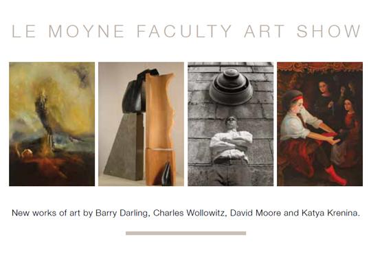 Postcard for Le Moyne Faculty Art Show
