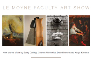 Postcard for Le Moyne Faculty Art Show