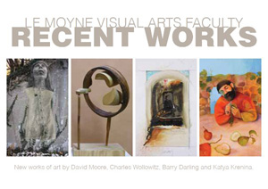 Postcard for Le Moyne Faculty Exhibition