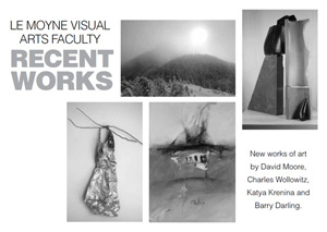 Postcard for Le Moyne Visual Arts Faculty Recent Works