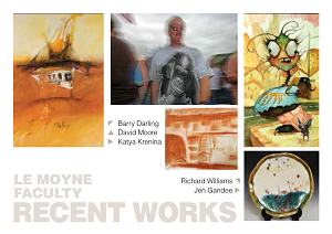 Le Moyne Visual Arts Faculty Recent Works
