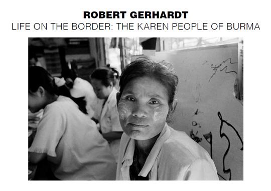 Postcard for Robert Gerhardt : Life on the Border: The Karen People of Burma