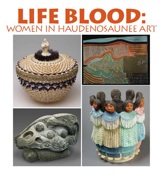 Life Blood: Women in Haudenosaunee Art