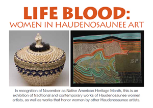 Postcard for Life Blood: Women in Haudenosaunee Art