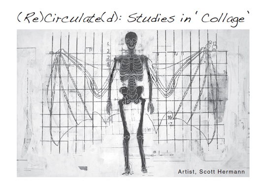 Postcard for Scott Herrmann : (Re)Circulate(d): Studies in Collage