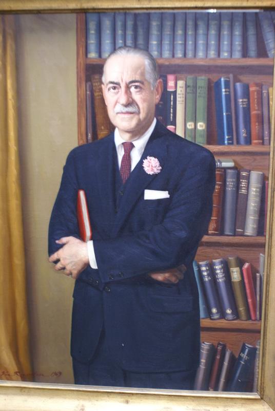 Portrait of Leonard Wershub, M.D.
