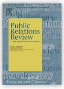 public relations review journal cover