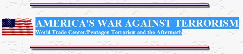 America's War Against Terrorism logo