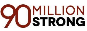 ninety million strong logo