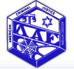 American Criminal Justice Association Logo